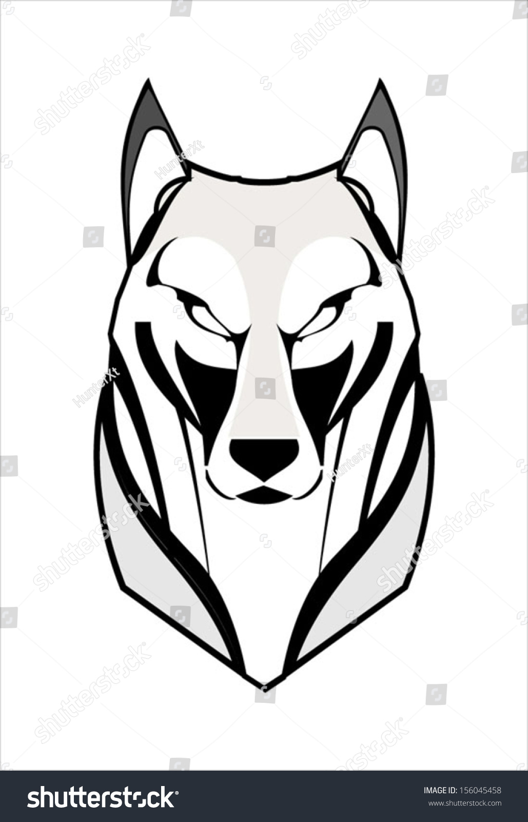 1029x1600 Husky Clipart Angry Wolf