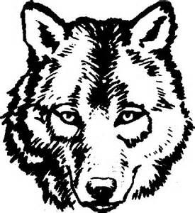 275x300 The Best Wolf Outline Ideas On Simple Wolf Drawing
