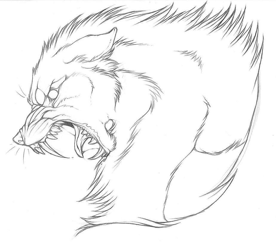 924x811 Wolf Head By Ravensilverclaw