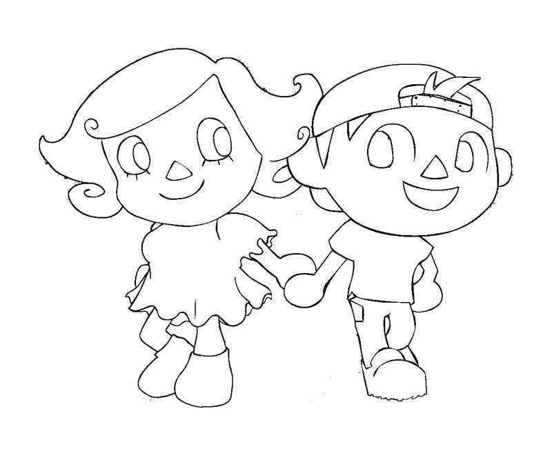 Animal Crossing Drawing