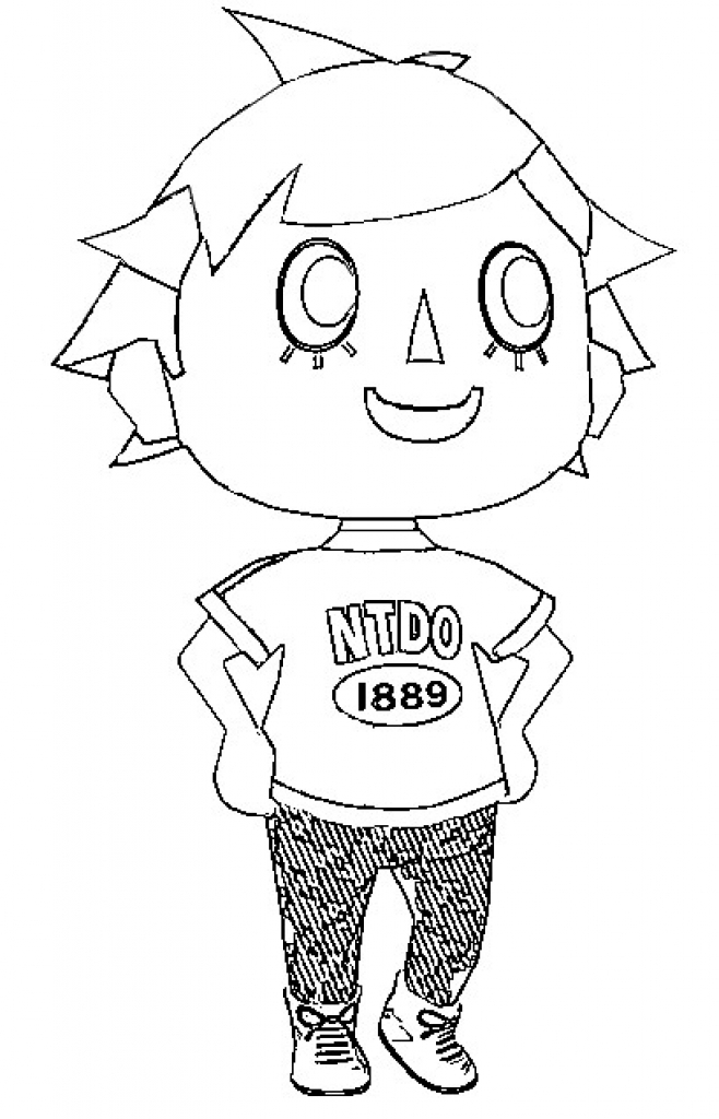 658x1024 animal crossing new leaf coloring pages