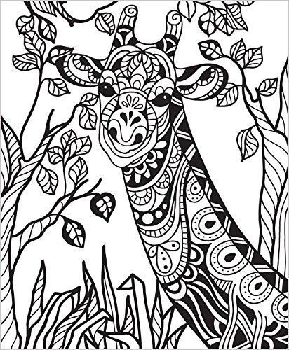 412x500 ColorIt Wild Animals Coloring Book Premium Hardcover