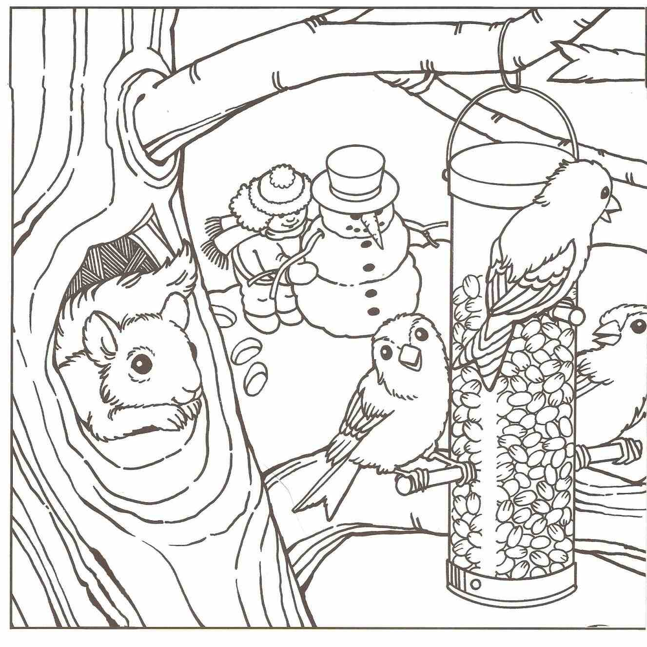 1327x1327 Outline Drawing For Scenery Detailed Patterns Advanced Animal