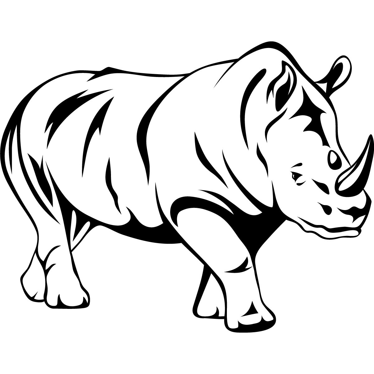 1200x1200 outline drawing of animals line drawings of animals free vector - Animal Outlines