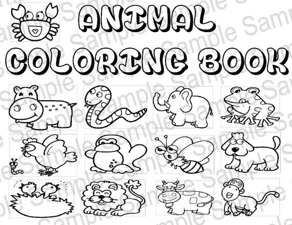 570x440 Printable Coloring Book Pdf 9 Best Customizable