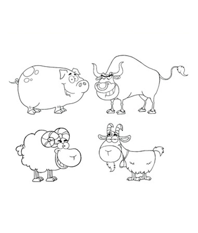 graphic relating to Free Printable Animal Templates referred to as Animal Drawing Templates at  Cost-free for