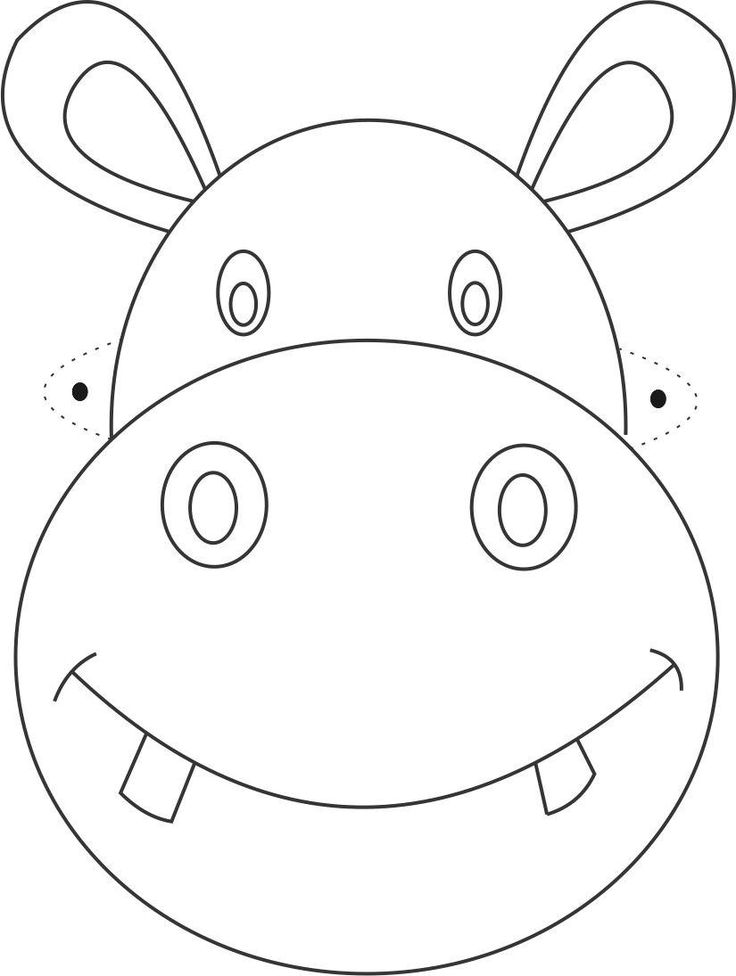736x976 28 Images Of Zoo Animal Face Template