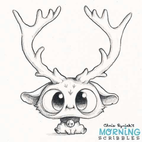 Animal Eyes Drawing
