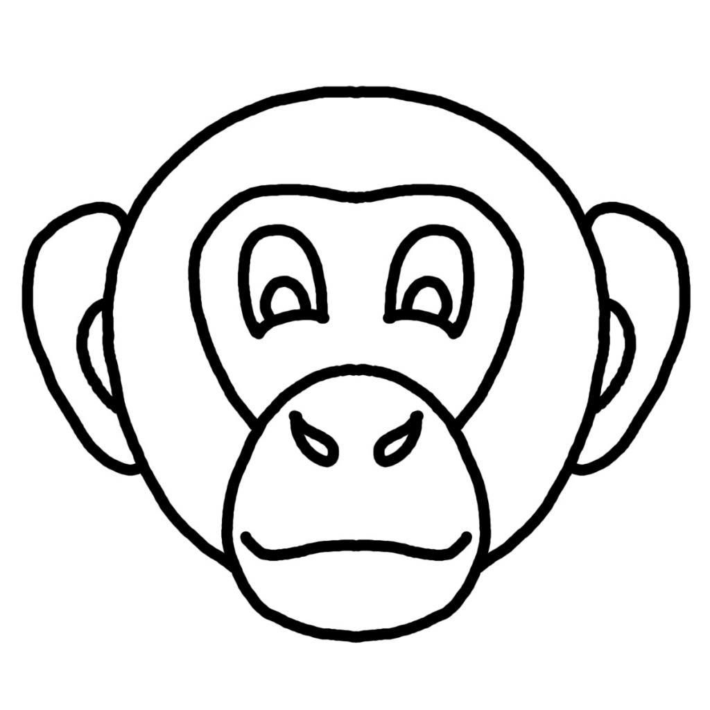1024x1024 Animal Face Drawing Animal Faces Clipart