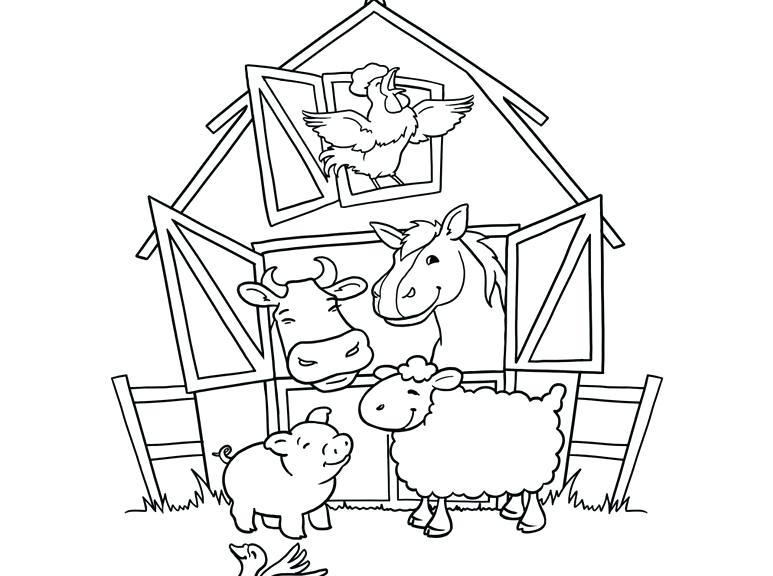Animal Farm Drawing at GetDrawings | Free download