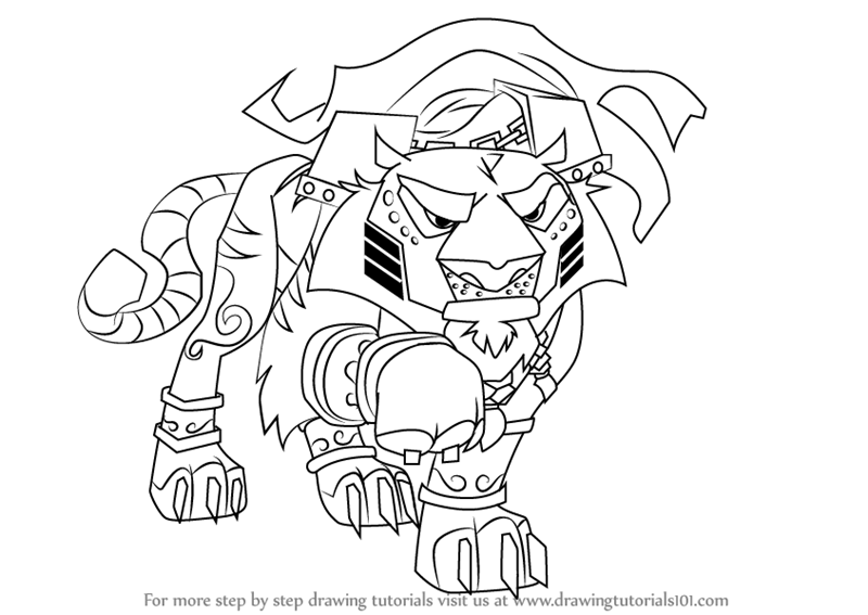 800x567 Learn How To Draw Sir Gilbert From Animal Jam (Animal Jam) Step By