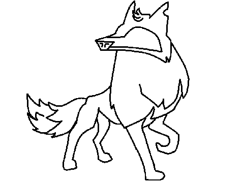 480x360 Animal Jam Coloring Pages Arctic Wolf
