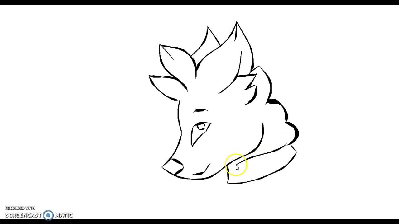 1280x720 Animal Jam ~ Drawing An Arctic Wolf