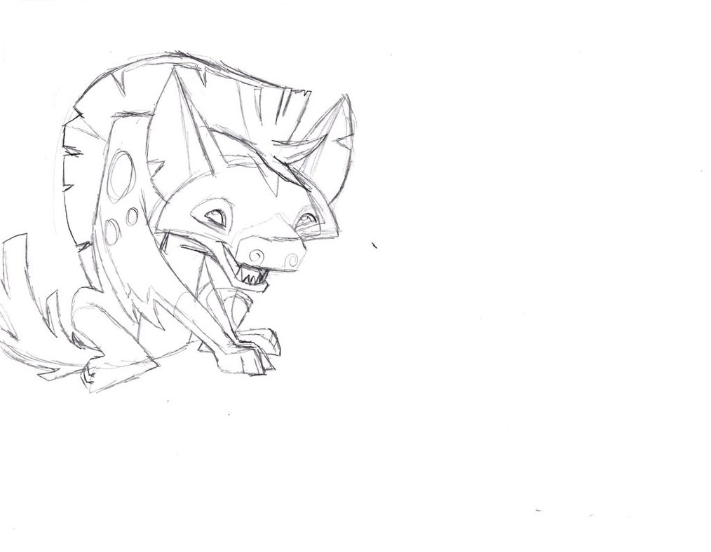 1014x788 Animal Jam Hyena By Fallenangelofcrimson