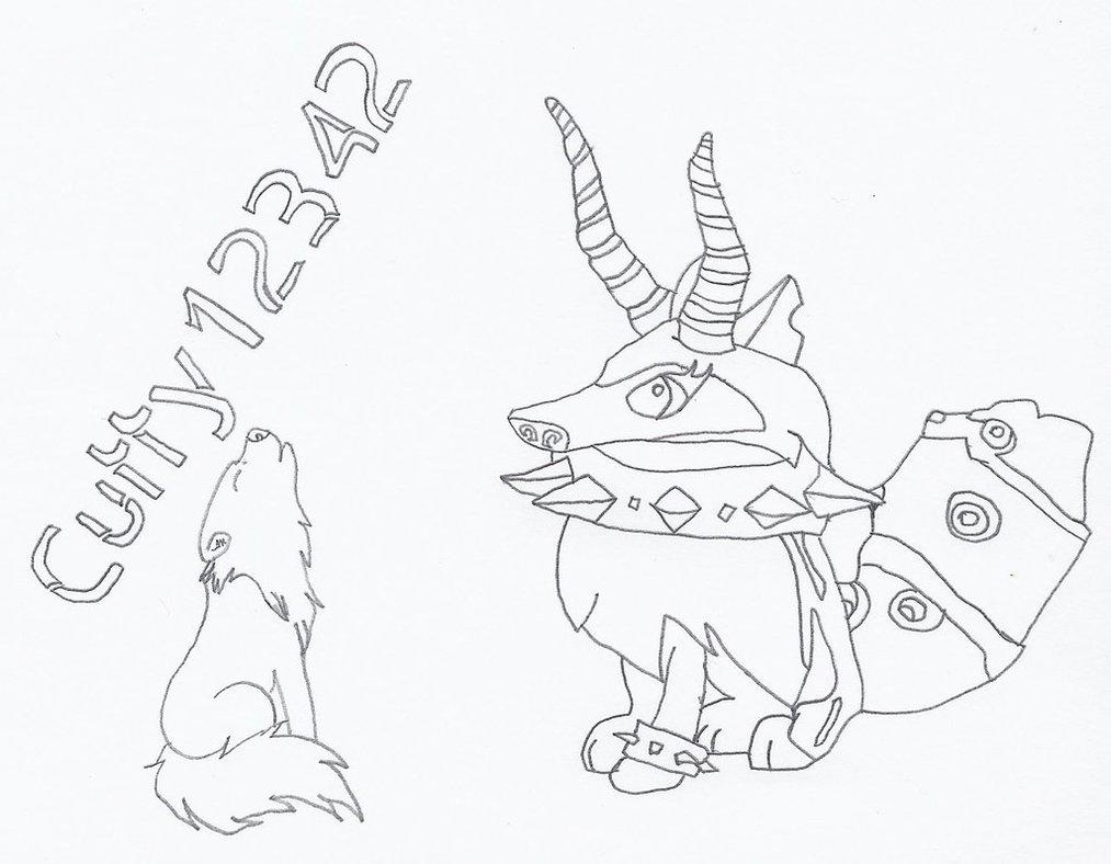 1013x788 Sketch (Animal Jam) Cutty12342 By Qtangelaj