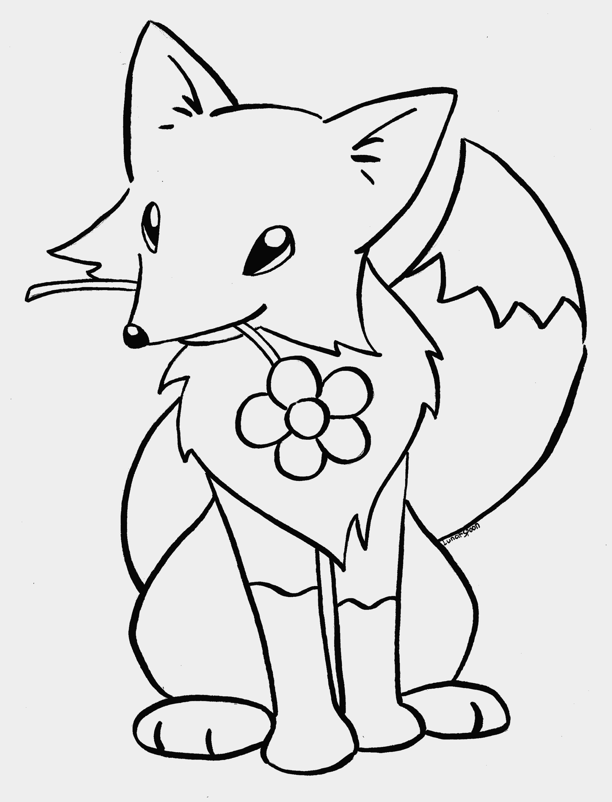 1994x2610 Lovely Animal Jam Coloring Pages Fox