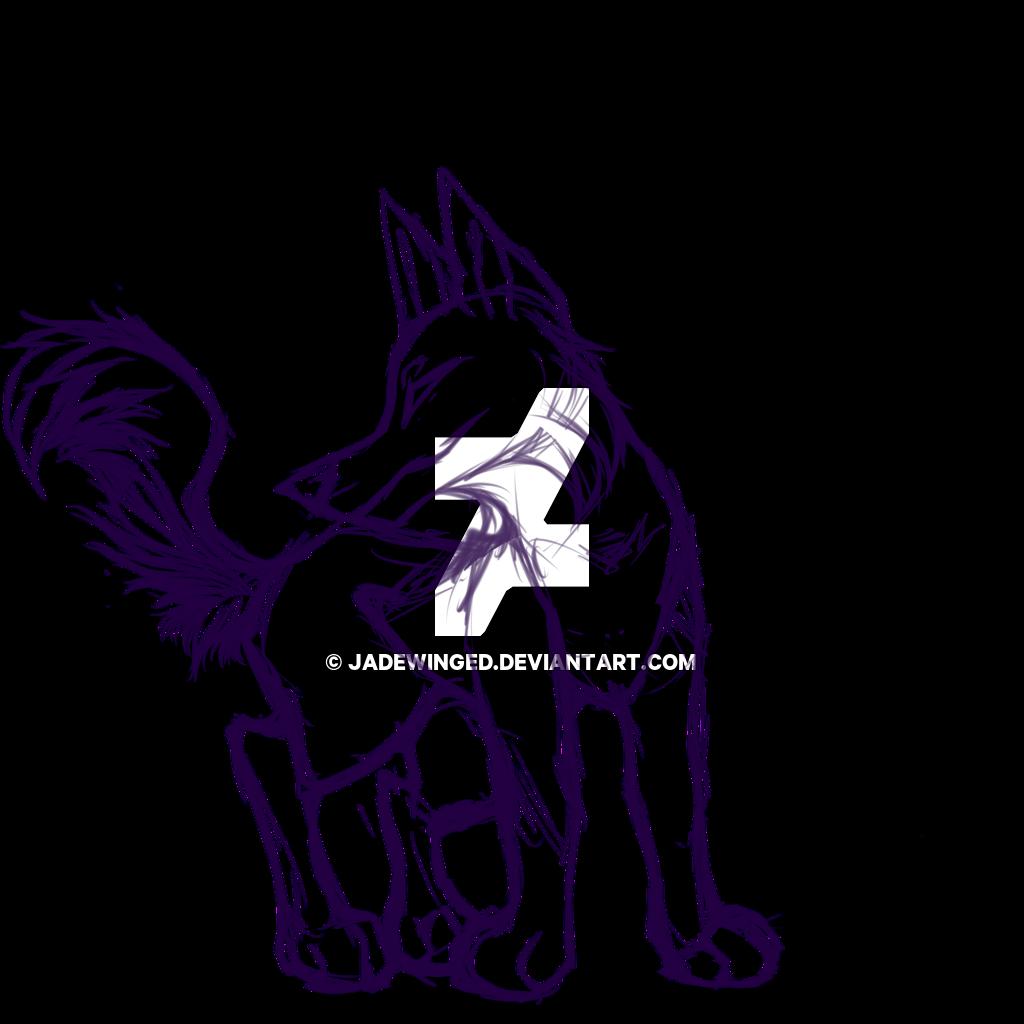1024x1024 Animal Jam Wolf Ych Sketch By Jadewinged