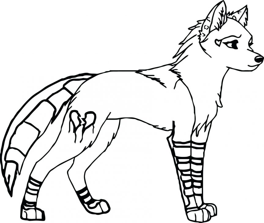 863x729 Awesome Wolf Coloring Pages Animal Jam Arctic Colouring Page