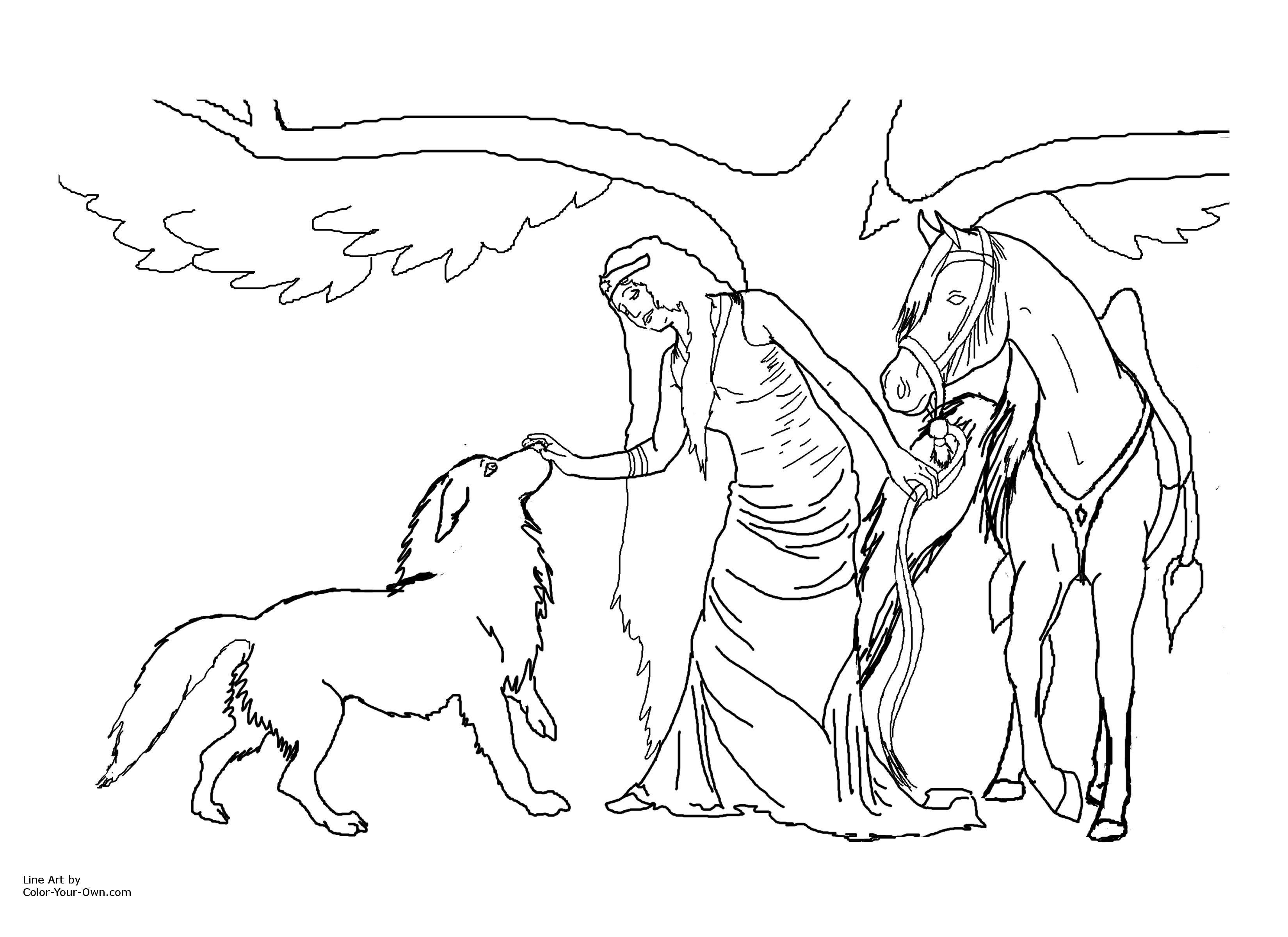 3300x2400 Fairy Coloring Page Click Here For The Printable By Inch Paper