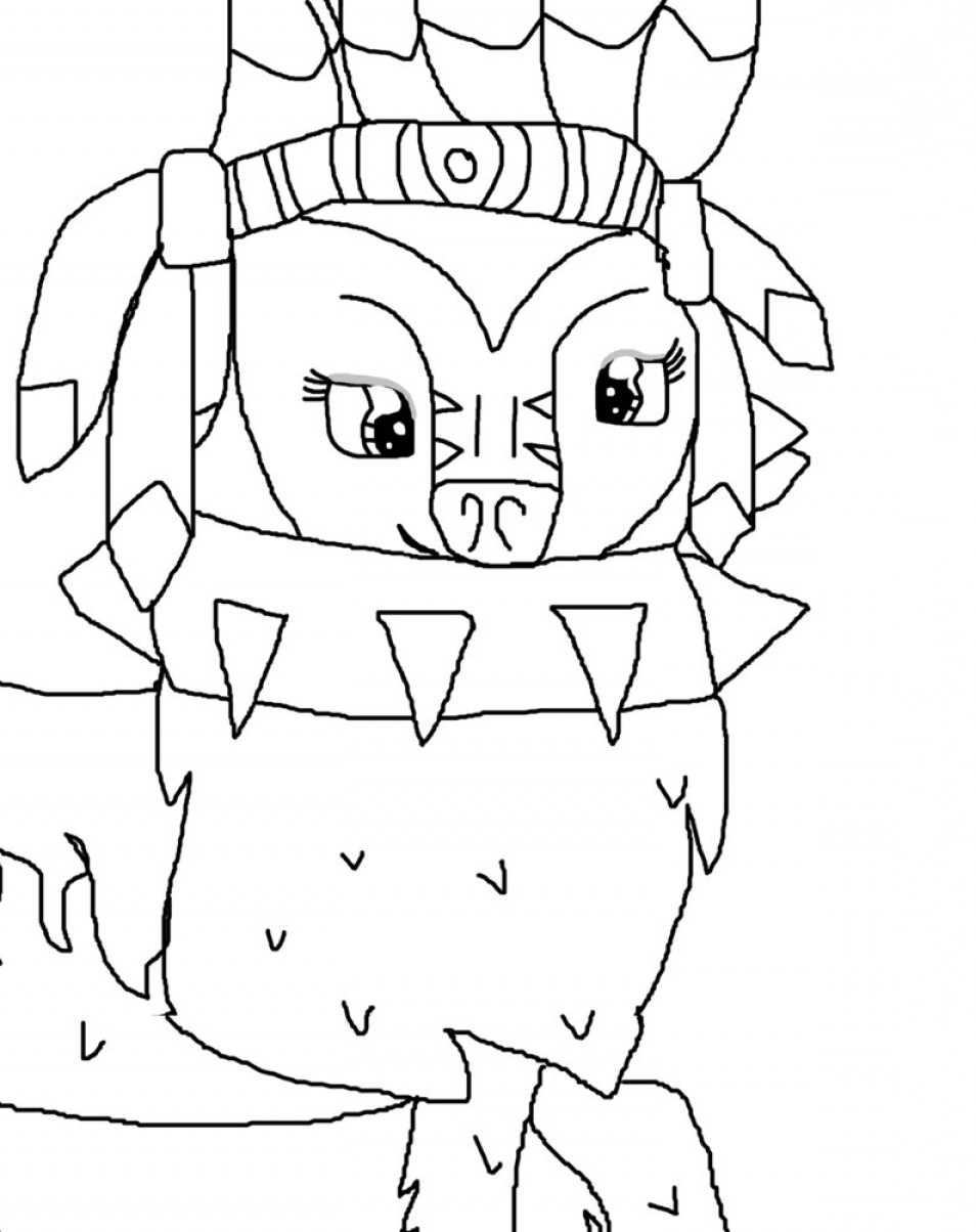 954x1204 Postanimal Jam Arctic Wolf Coloring Pages Ardiafm