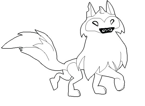 604x440 Animal Jam Pictures To Color Arctic Wolf Base Animal Jam 1 Animal