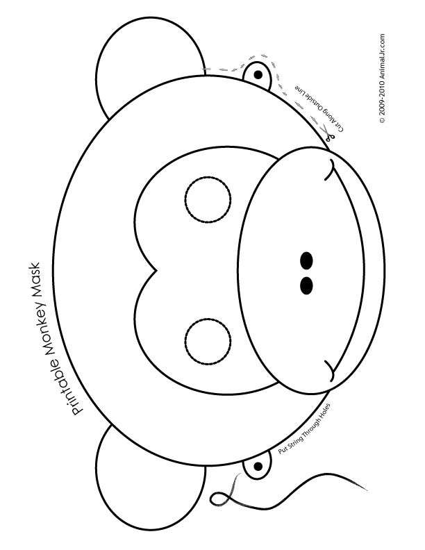 612x792 Lion Mask Coloring Page