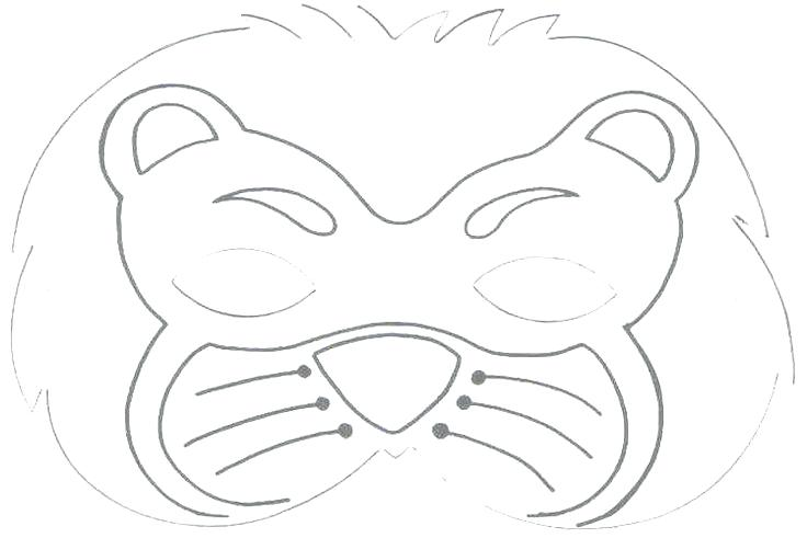 Animal Mask Drawing at GetDrawings.com | Free for personal use ...