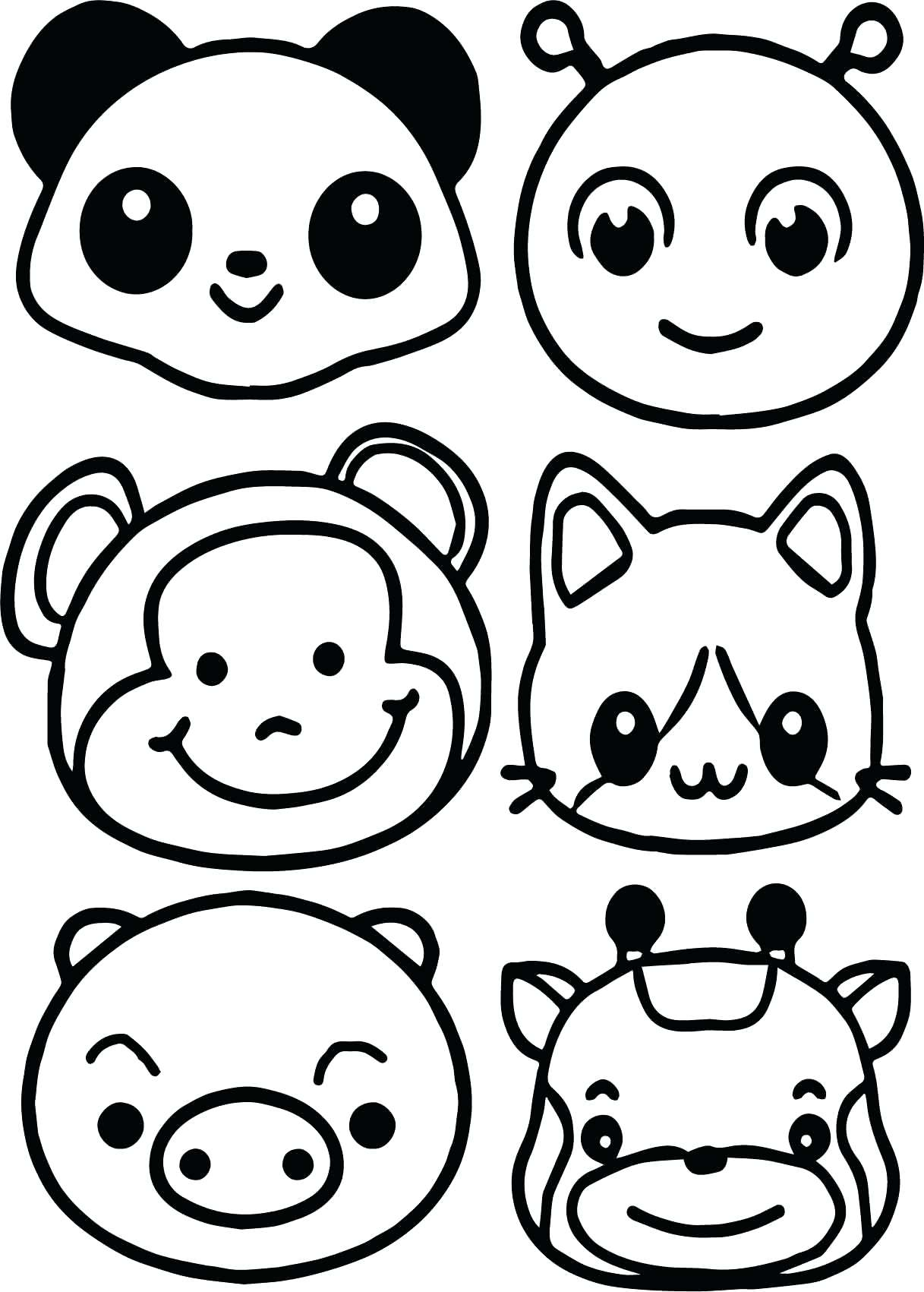 1217x1701 Coloring Animal Faces Coloring Pages Animals Face Page Mask