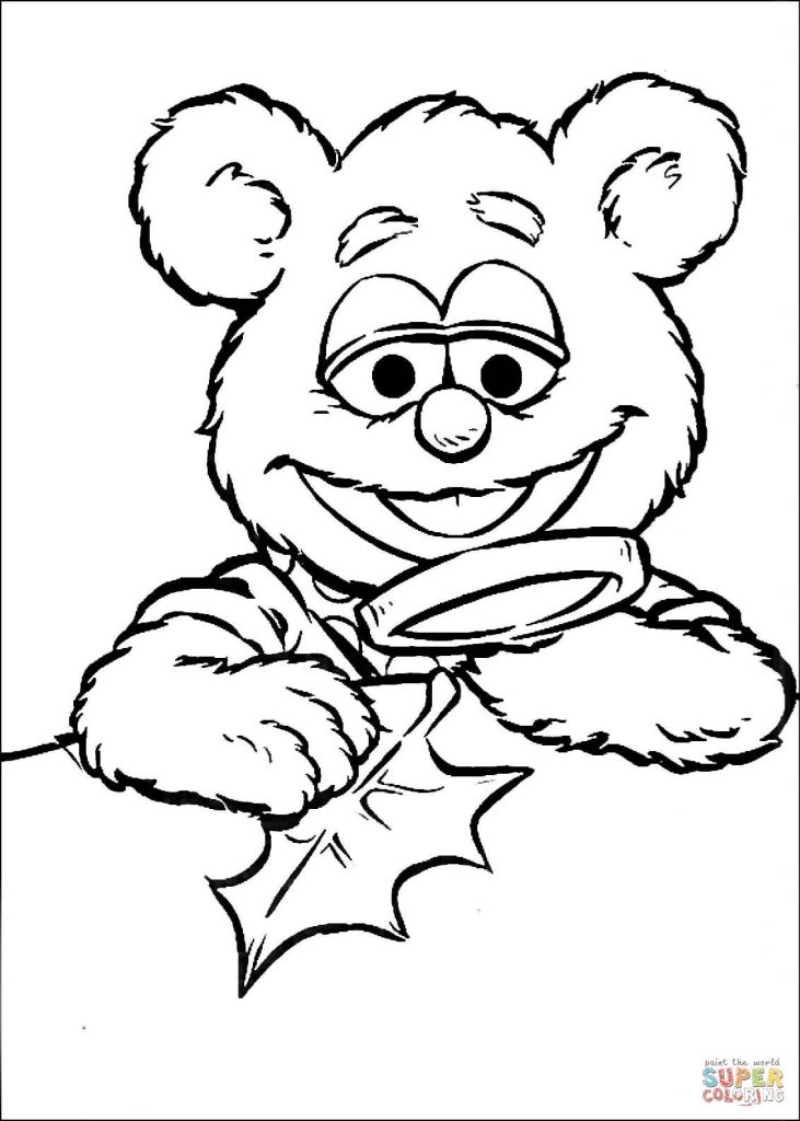 731x1024 Muppet Coloring Pages. Free Drawing Search Muppet Christmas