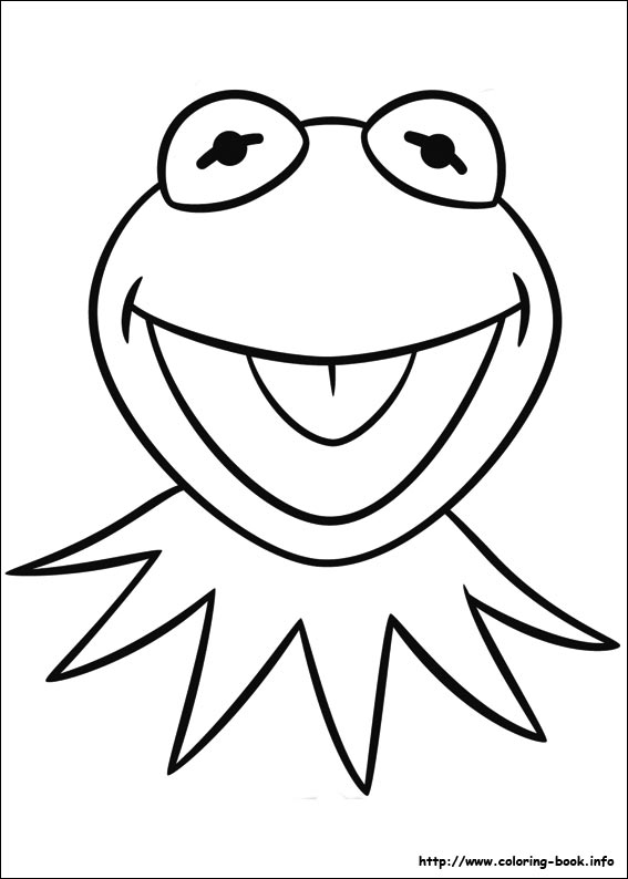 567x794 Muppets Animal Coloring Pages Drawing Animal Muppet Sketch