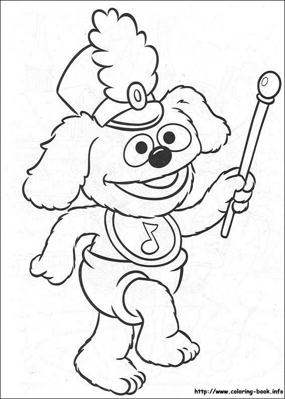 567x794 63 Best The Muppets Colouring Pages Images On Paint