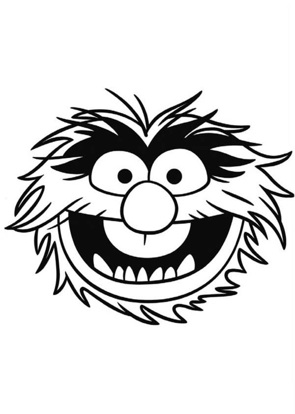 600x840 Animal Muppet Coloring Sheets Chef Muppets Coloring Sheets