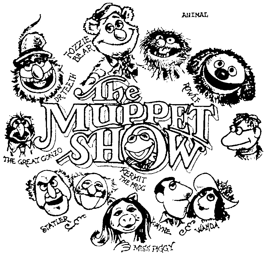 Animal Muppets Drawing at GetDrawings.com | Free for personal use ...
