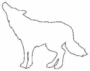 300x239 animal outline - Animal Outlines