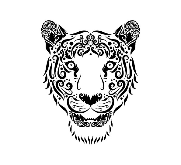 595x543 Collection Of Hand Drawn Animal Pattern Vector 02 Posted