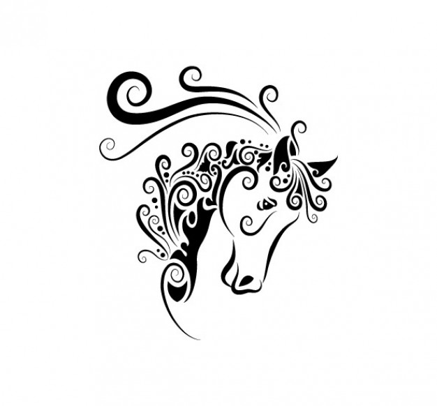 626x582 Hand Painted Animal Pattern Vector Tattoos Animal