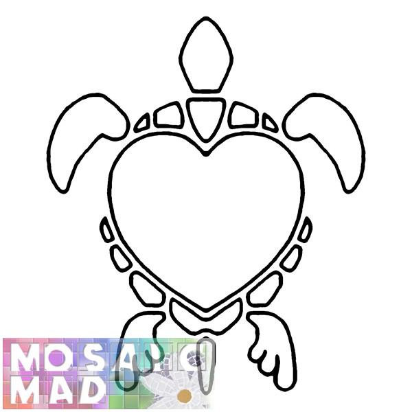 600x600 Animal Mosaic Patterns Animals Turtle Pattern Diy Amp Crafts