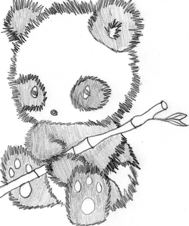 900x1073 Cute Baby Animal Drawings In Pencil