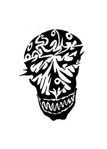 216x300 Animal Skull Drawings