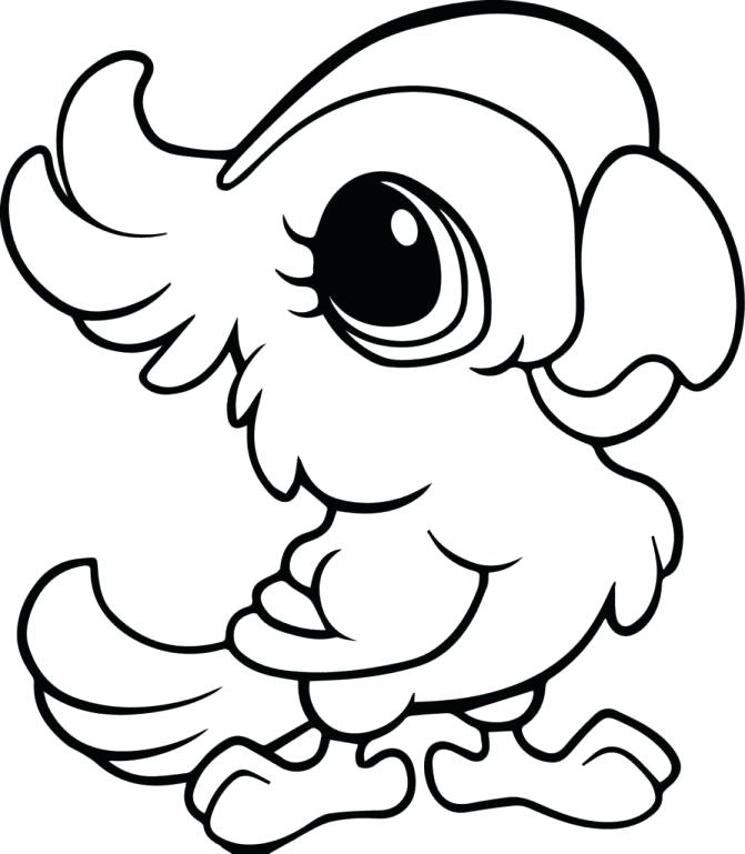 671x769 Cute Coloring Pages Of Baby Animals Baby Animals Coloring Pages