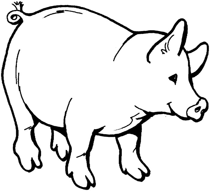 Animals Drawing For Colouring At GetDrawings