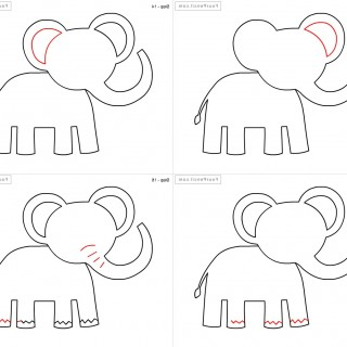 320x320 Tag For Drawings Of Animals Easy Drawing Animals For Beginners