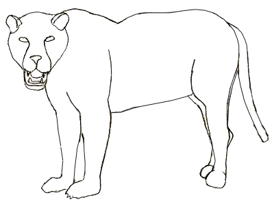 400x295 How To Draw A Jaguar