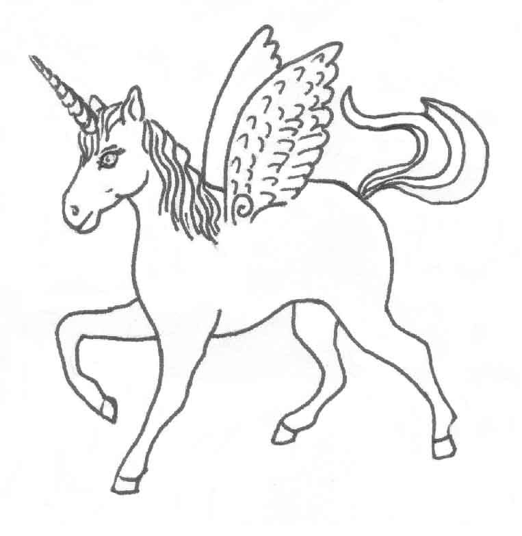 763x783 Animals Horse Printable Coloring Pages For Preschool