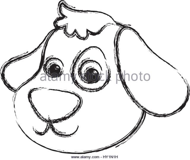 640x540 Cute Cartoon Dog Head Stock Photos Amp Cute Cartoon Dog Head Stock