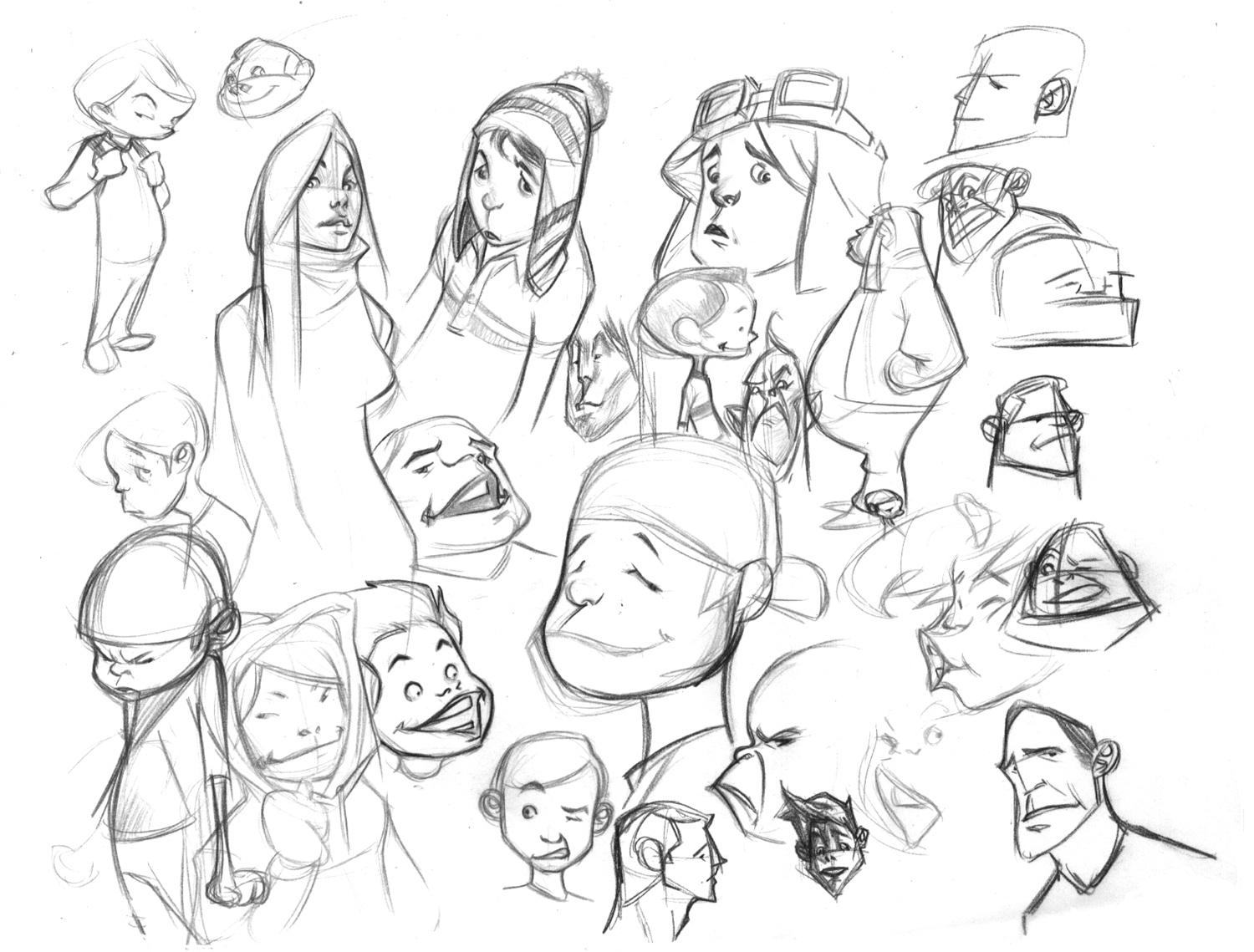 1500x1139 Animated Drawings Of People Cartoon Sketchesbolognafingers