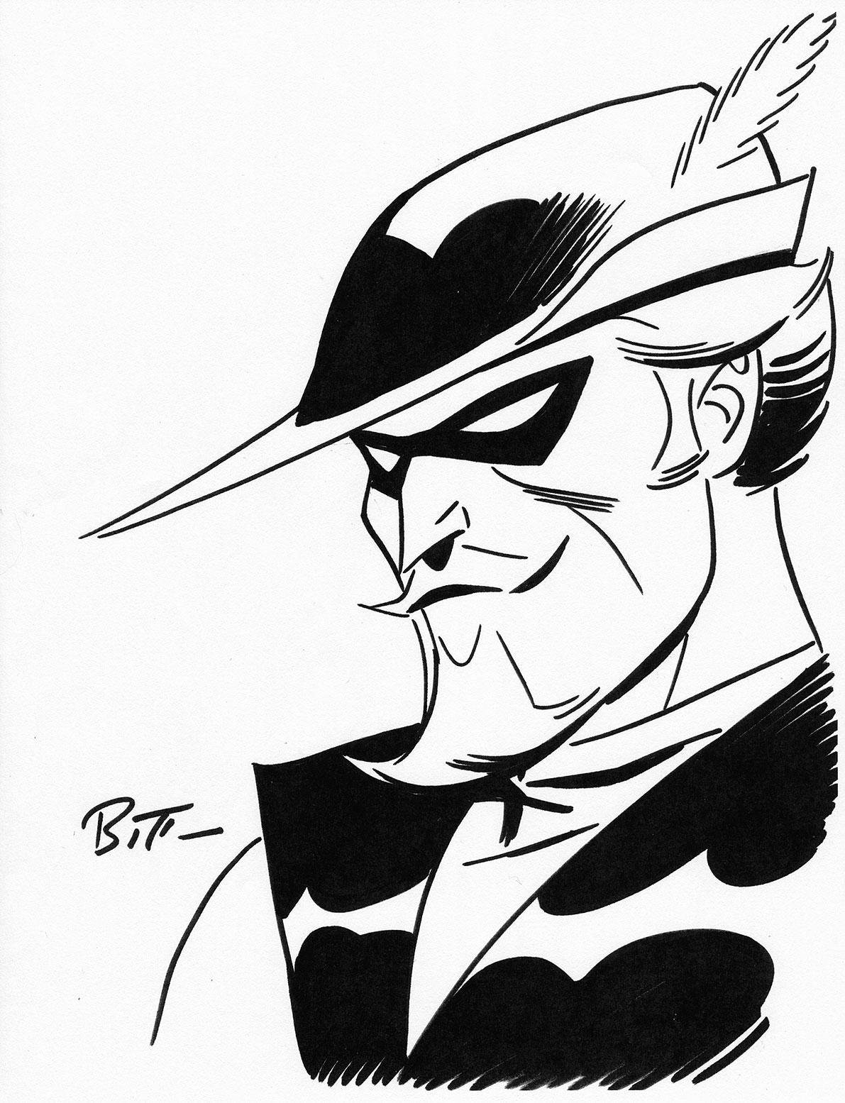 1191x1555 Bruce Timm 2016 Green Arrow Sketch Art