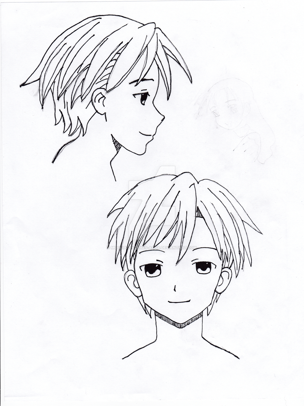 1024x1368 Anime Style Drawings A Talk About Drawing Styles