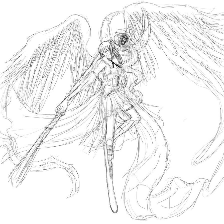 894x894 Sammi Doll Angel Warrior by LuciferxMorningStar on DeviantArt