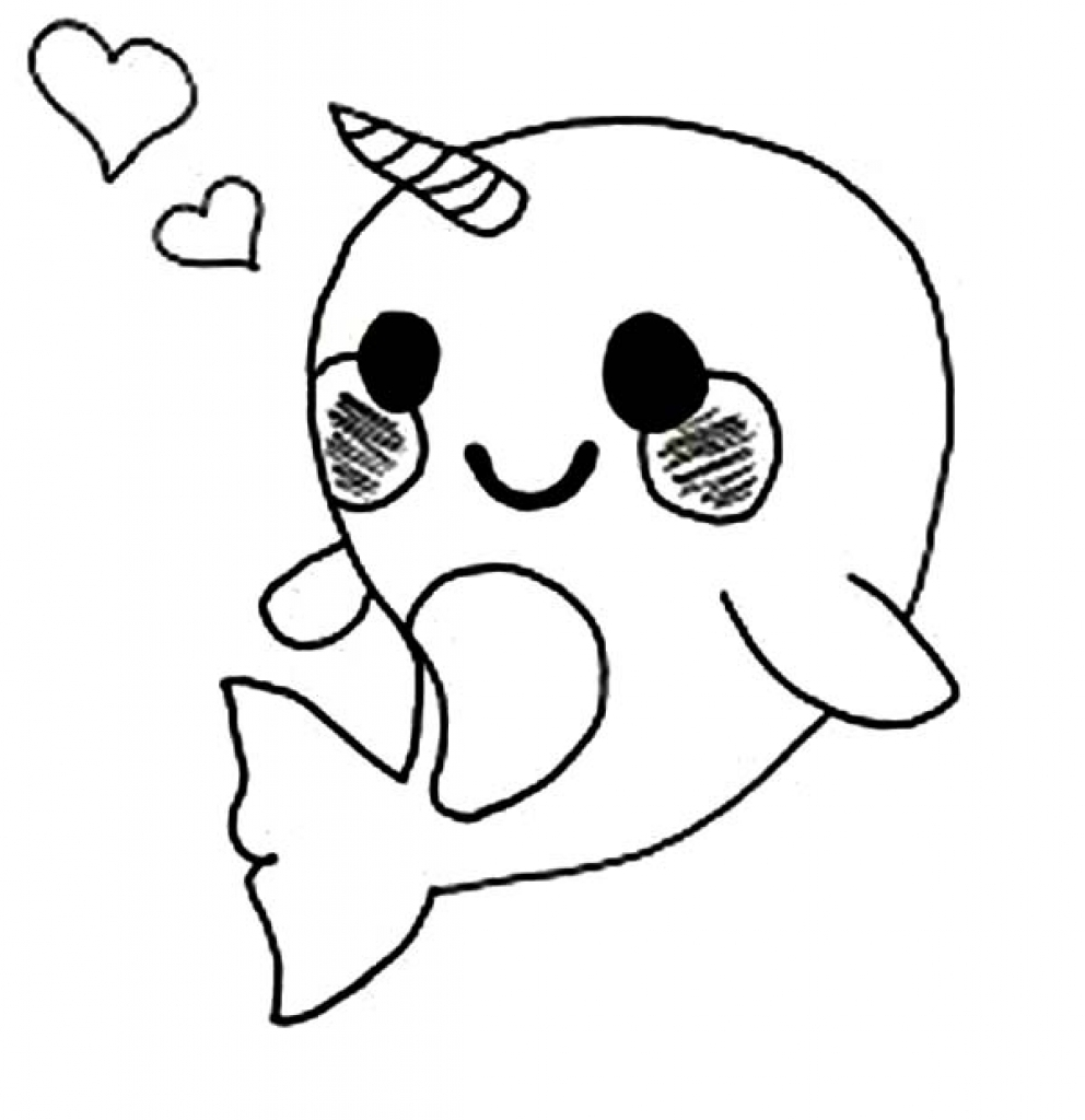 992x1024 Cute Anime Animal Coloring Pages To Humorous Draw Paint